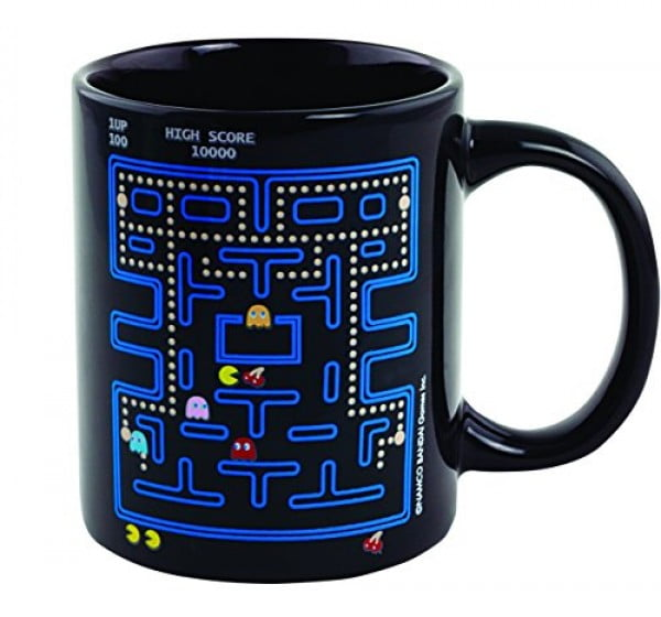 Paladone Pac Man Heat Change Mug #pacman #geek #giftideas #gifts