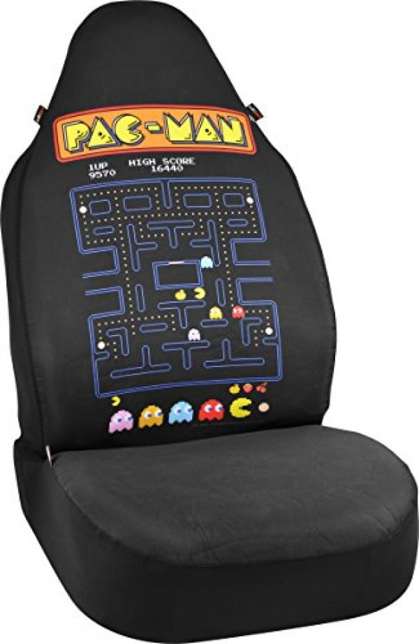 Bell Automotive 22-1-70403-9 Universal Neoprene Snug Fit Pac-Man Bucket Seat Cover #pacman #geek #giftideas #gifts