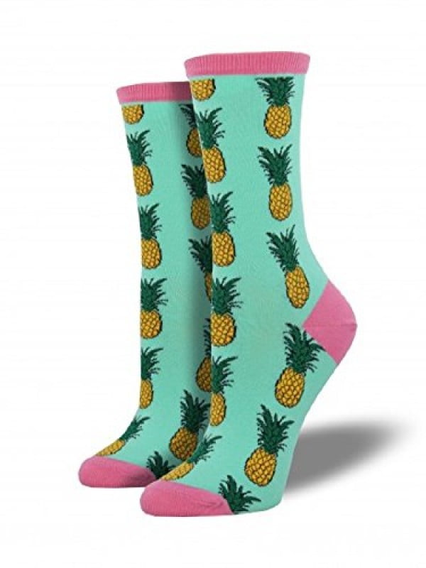 Socksmith Womens Pineapple Wintergreen, Multi, One Size #pineapple #gifts #giftideas
