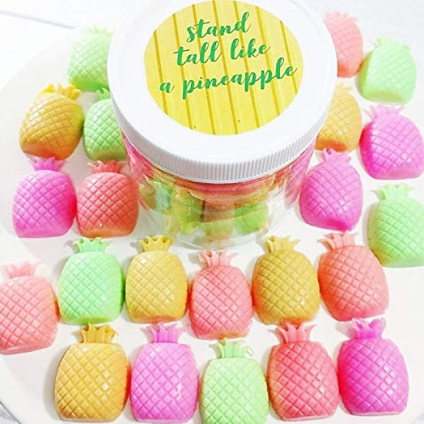 Stand Tall like a Pineapple Mini Soaps. Best friend Gift. Pineapple. Tropical Summer #pineapple #gifts #giftideas