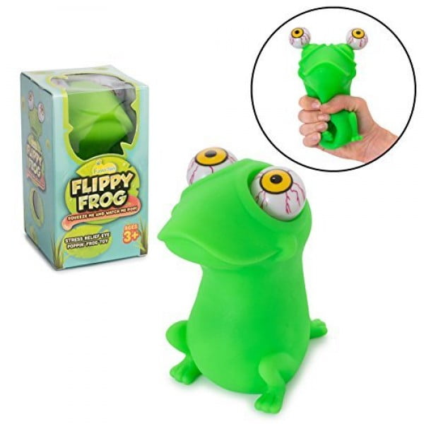 Squishy Eye Popping Frog By Funky Toys #giftideas #gifts #stressrelief #toys