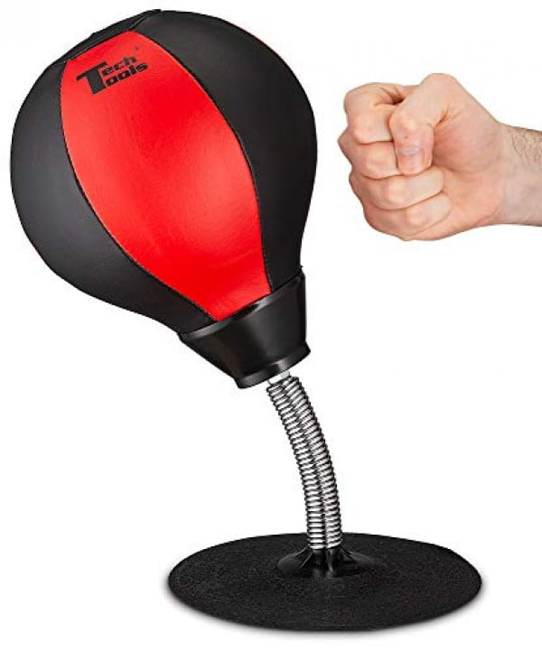 Tech Tools Stress Buster Desktop Punching Ball #giftideas #gifts #stressrelief #toys