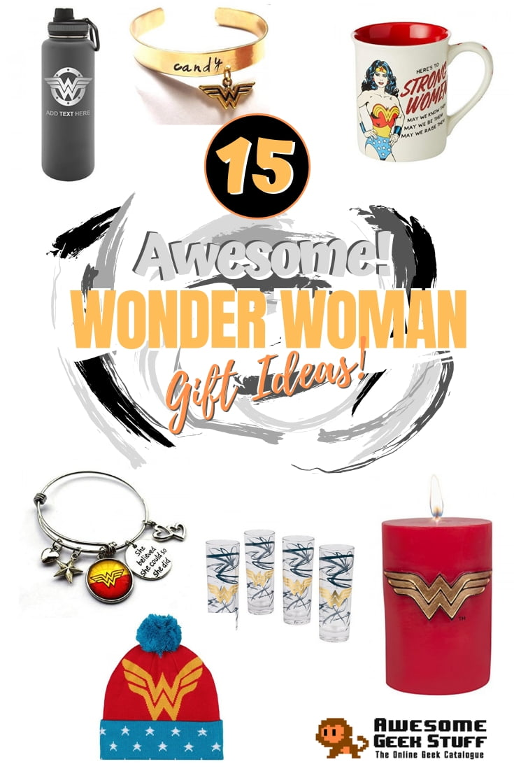 Here's how to please the Wonder Woman in your life. Great gift ideas for the fan girl! #gifts #giftideas #wonderwoman #dccomics