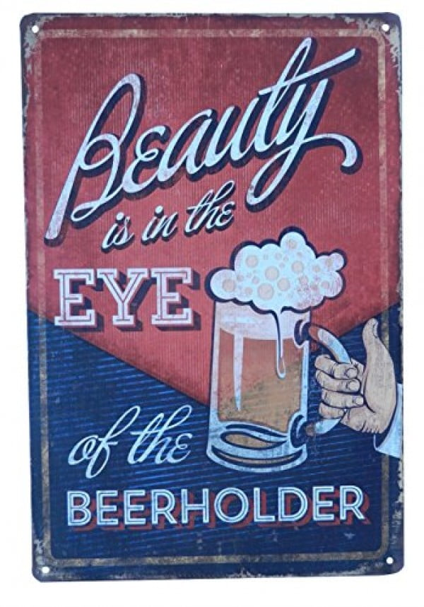 Beer Alcohol Drinking Funny Tin Sign Bar Pub Diner Cafe Wall Decor Home Decor Art Poster Retro Vintage #beer #posters #gifts #giftideas #coolstuff