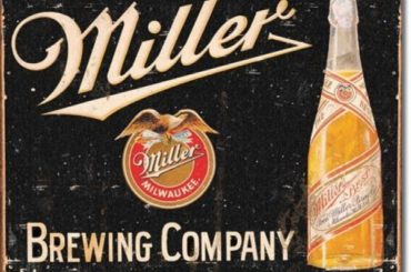 Poster Discount Miller Brewing Vintage Tin Sign, 16x12 #beer #posters #gifts #giftideas #coolstuff
