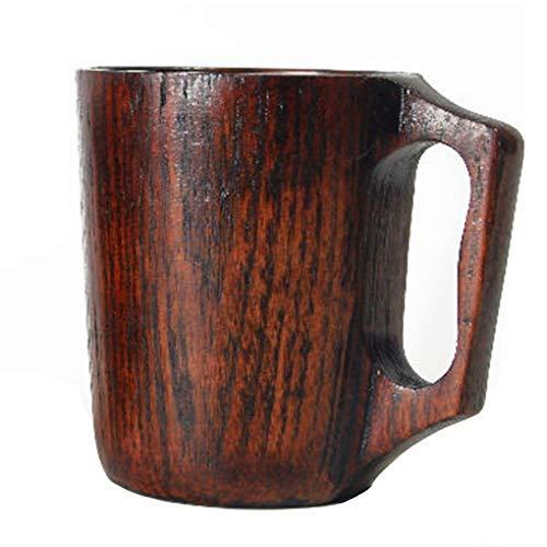 12 Oz Handmade Wooden Coffee Mug Wood Outdoor