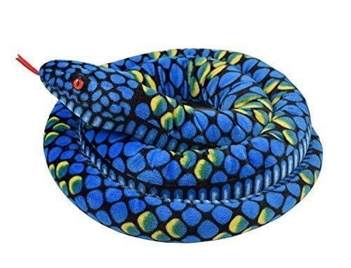 "A-cool 113"" Giant Stuffed Boa Snake Soft Plush Toy"