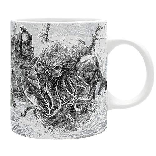 Abystyle - Cthulhu Mugs (cthulhu Attacks Mug, 11