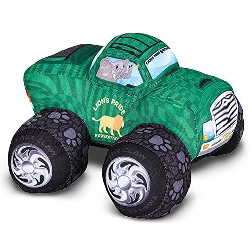 Artcreativity Plush Monster Truck Safari Design -