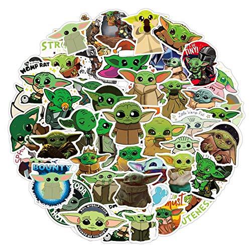 Baby Yoda Stickers 50pcs The Mandalorian Sticker