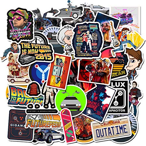 Back To The Future Sticker Pack Of 50 Stickers -