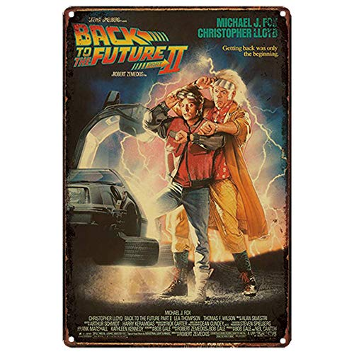 Back To The Future Tin Sign