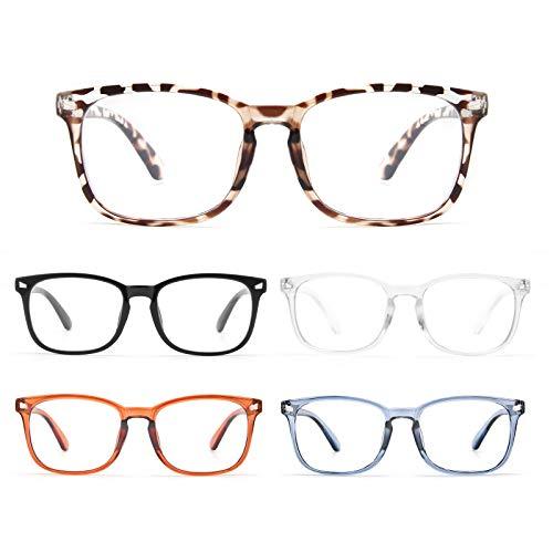 Bls 5 Pack Reading Glasses Blue Light Blocking,