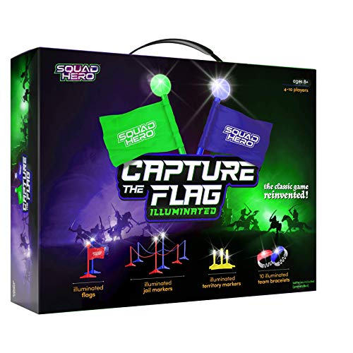Capture The Flag Game Illuminated - Outdoor