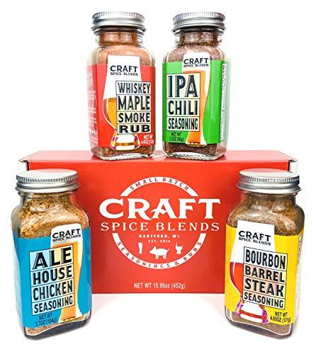 Craft Spice Blends Gift Set (grilling Seasonings &