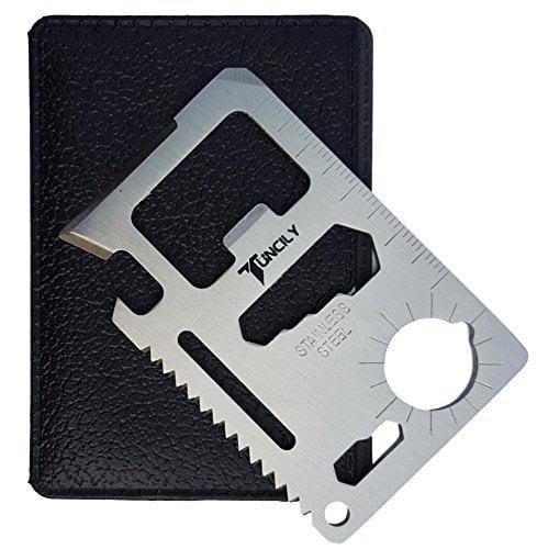 Credit Card Survival Tool - 11 In 1 Multipurpose