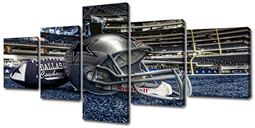 Djsylife- Inspirational Sports Wall Art,5 Piece