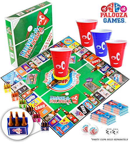 Drink-a-palooza Board Games: Party Drinking Games