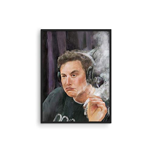 Elon Musk Posters For College Dorm - By Haus And