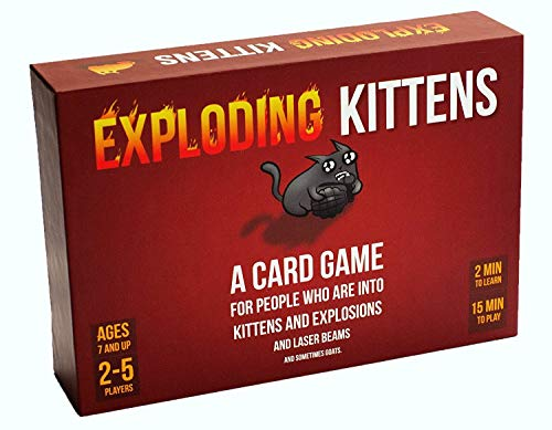 Exploding Kittens Card Game - Family-friendly
