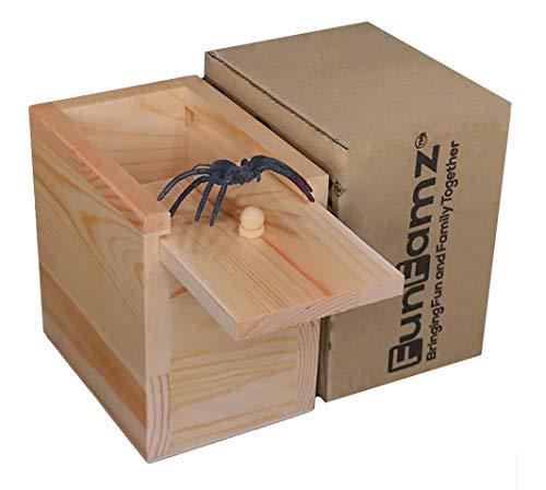 Funfamz The Original Spider Prank Box- Funny