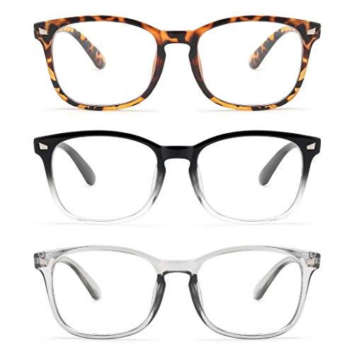 Gaoye 3-pack Blue Light Blocking Glasses Women