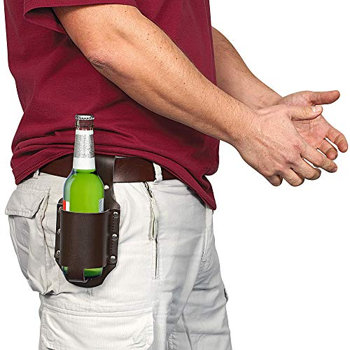 Greatgadgets Classic Beer Holster, Leather,