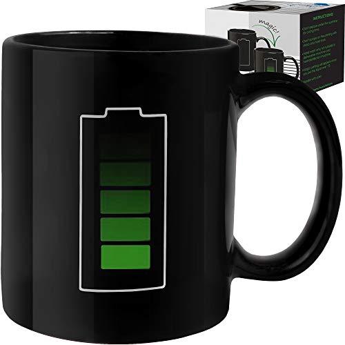 Heat Changing Sensitive Funny Mug - Cool Coffee &