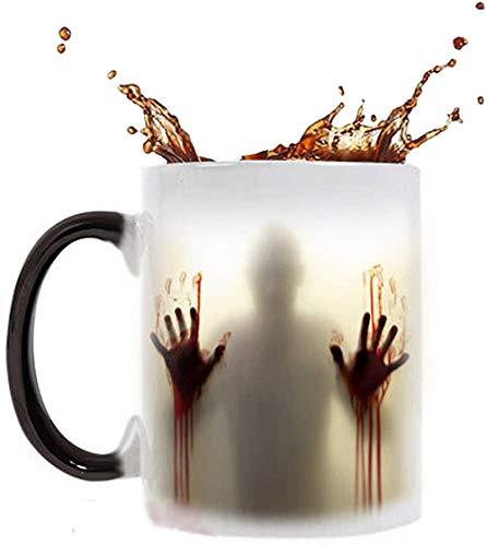Heat Sensitive Color Changing Mug Walking Corpse