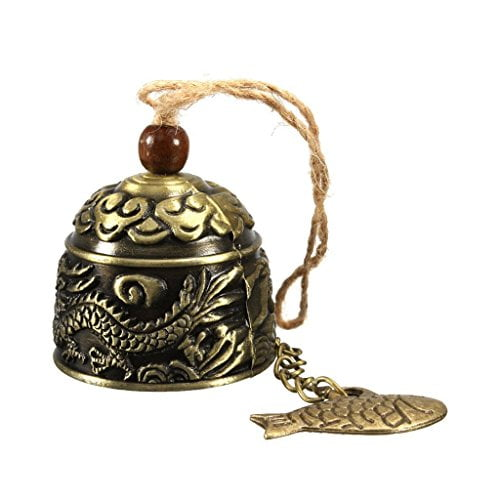 Himo Vintage Dragon Fengshui Bell Toy Good Luck