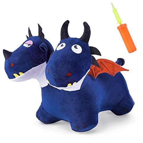 Iplay, Ilearn Bouncy Pals Blue Bouncy Horse Hopper
