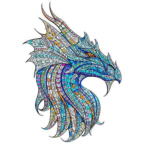 Kaayee Wooden Jigsaw Puzzles- Warrior Dragon