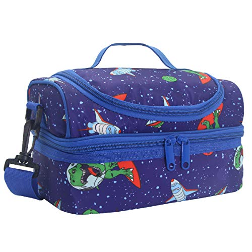 Lunch Box Bag For Boys, Kasqo Insulated Cooler Bag