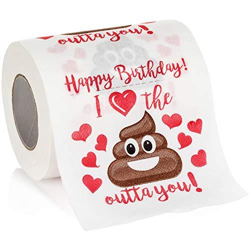 Maad Romantic Birthday Novelty Toilet Paper -
