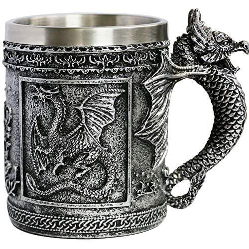 Medieval Roaring Dragon Mug - Dungeons And Dragons
