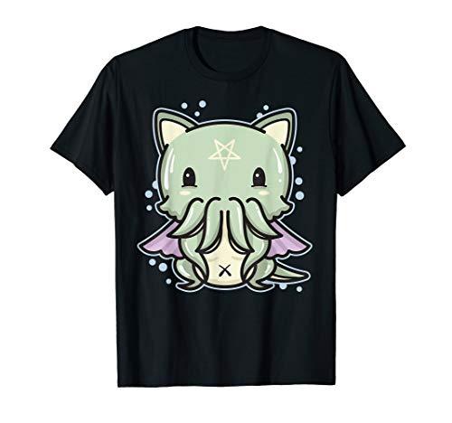 Pastel Goth Cathulhu Cat - Creepy Cute Kawaii