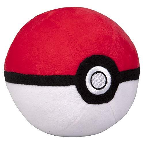 "Pokémon 4"" Pokéball Plush - Soft Stuffed Poké"