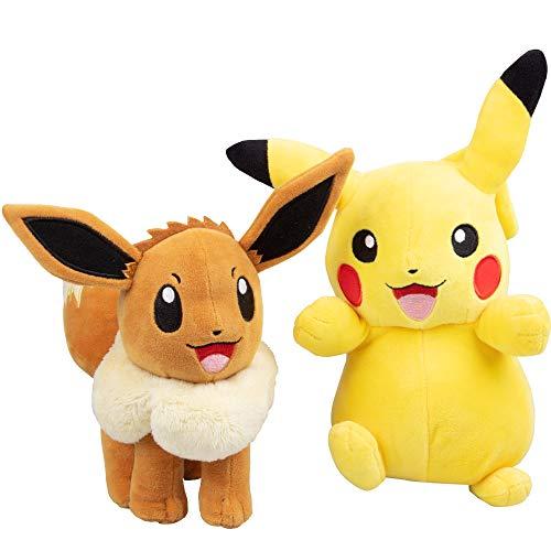 Pokémon Eevee And Pikachu 2 Pack Plush Stuffed