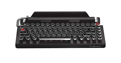 Qwerkywriter S Typewriter Inspired Retro
