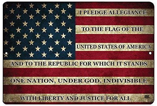 Rogue River Tactical Usa American Flag Metal Tin