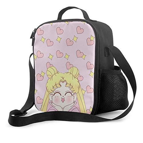 Sailor Moon Custom Anime Lunch Bag With Adjustable