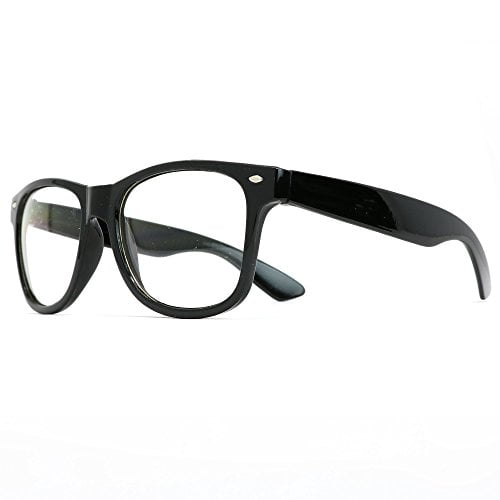 Skeleteen Retro Nerd Costume Glasses - Oversized