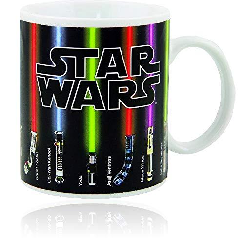 Star Wars Mug, Lightsabers Appear With Heat (12