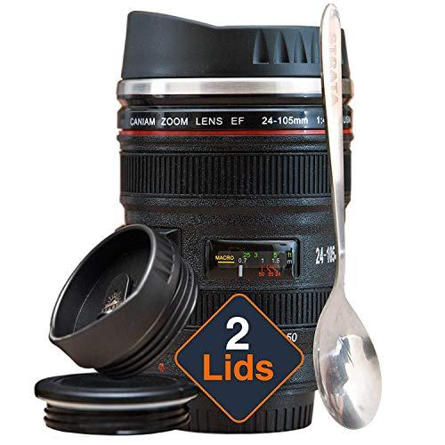 Strata Cups Camera Lens Coffee Mug -13.5oz, Super