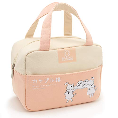 Stylish Bento Lunch Carry Bags - Thermal Cooler