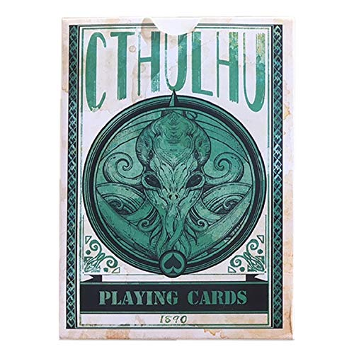 Sum-elyn Playing Cards - Poker Cthulhu Poker