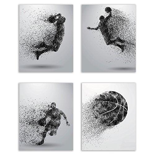 Summit Designs Basketball Wall Art Prints -