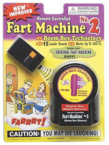 T.j. Wisemen Remote Control Fart Machine No. 2