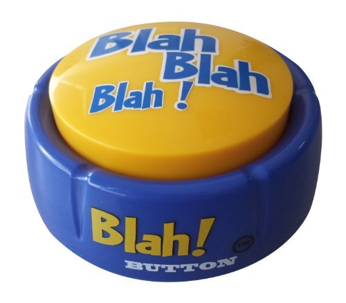 Talkie Toys Products Blah Button -talking Button