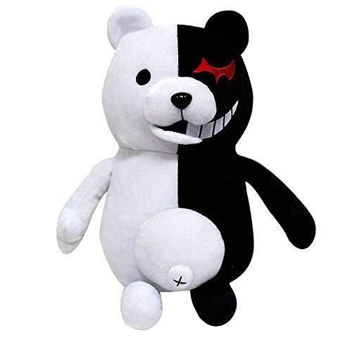 Timsophia Boys Black White Bear Plush Doll